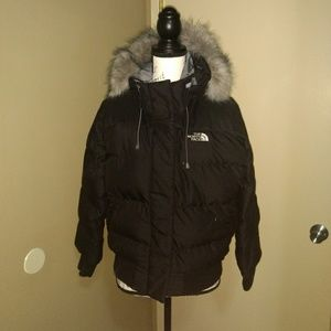 North Face down jacket parka